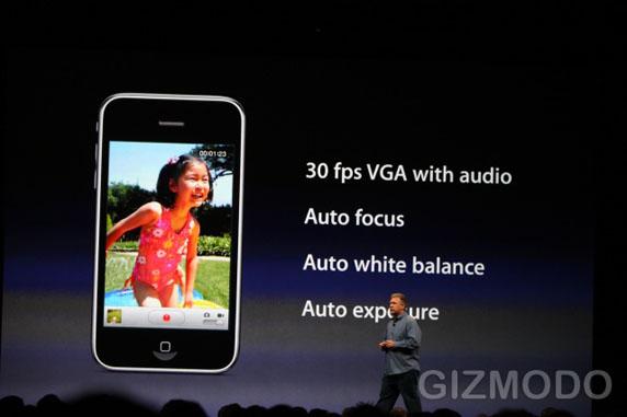 Video op iPhone 3G S