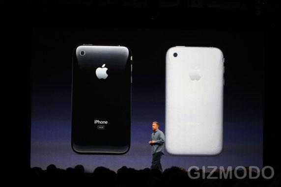 iPhone 3G S achterkant