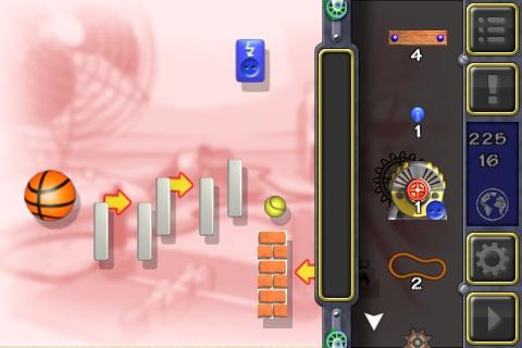 Naarmate je verder in de game vordert, wordt Crazy Machines steeds moeilijker.