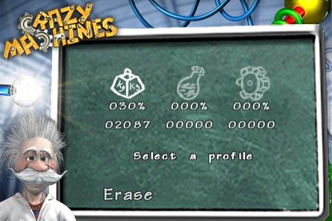 De score in Crazy Machines.