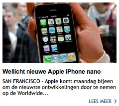 ad iphone nano