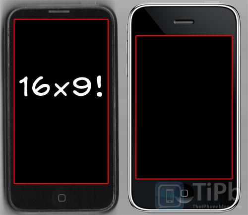 iphone video wider screen