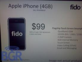 fido 4gb iphone