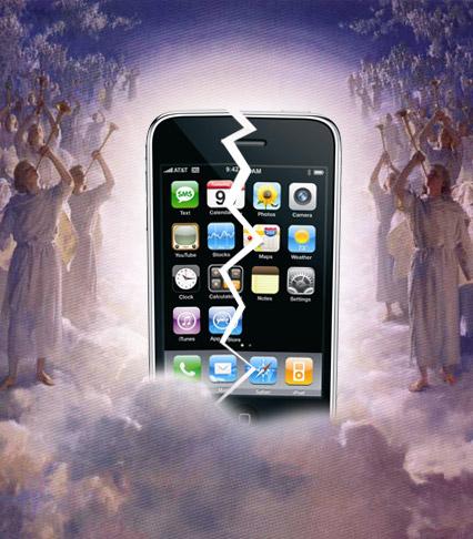 iPhone in Heaven