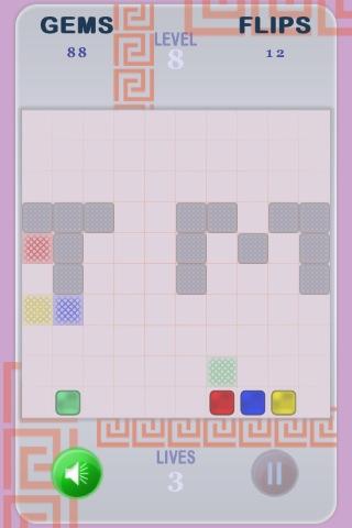 Het puzzle speltype in Klep