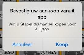 In-app aankoop