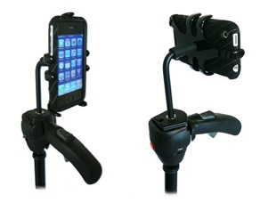 ped3 iphone mount