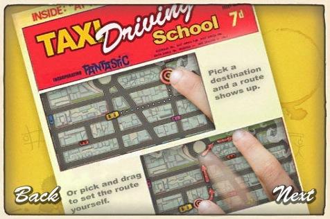 taxi drive uitleg