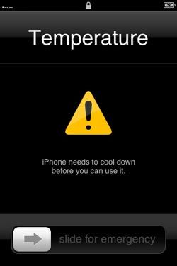 iphone oververhit