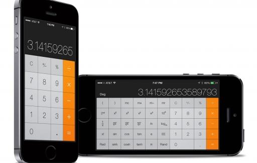 Wetenschappelijke rekenmachine iOS