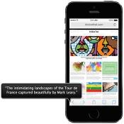VoiceOver-geluid op iPhone extra luid zetten