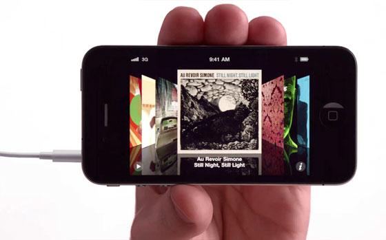 iTunes Views: List, Album / Grid, and Cover Flow