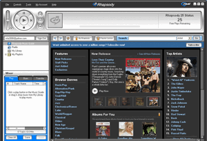 rhapsody dashboard