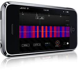 Sonar ruler op de iPhone