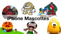 iPhone Mascottes