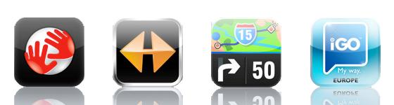 iPhone-navigatievergelijking