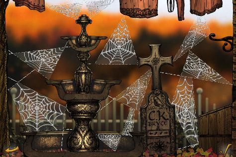 Spider Secret Bryce Manor - overzicht voltooide level