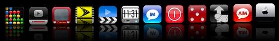 iphone iconen