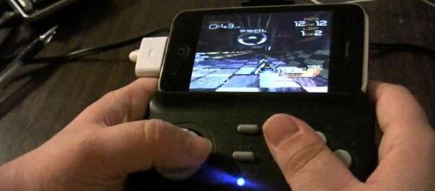 iJoyPad demo met iPhone 3GS