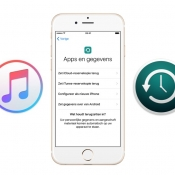Backup terugzetten vanuit iTunes op iPhone of iPad