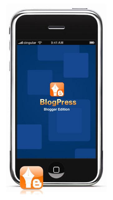 Blogpress - bloggen op de iPhone met Blogger