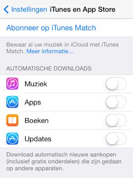 Automatische downloads