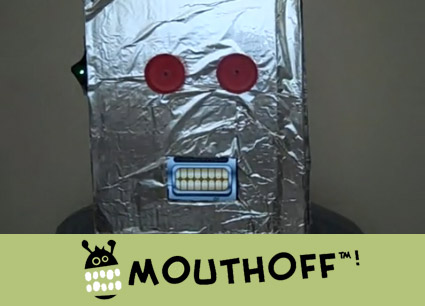 iPhone masker met Mouthoff