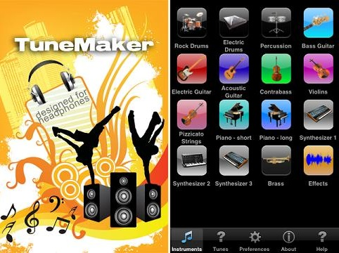tunemaker voor iPhone