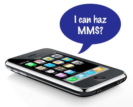 AT&T en MMS