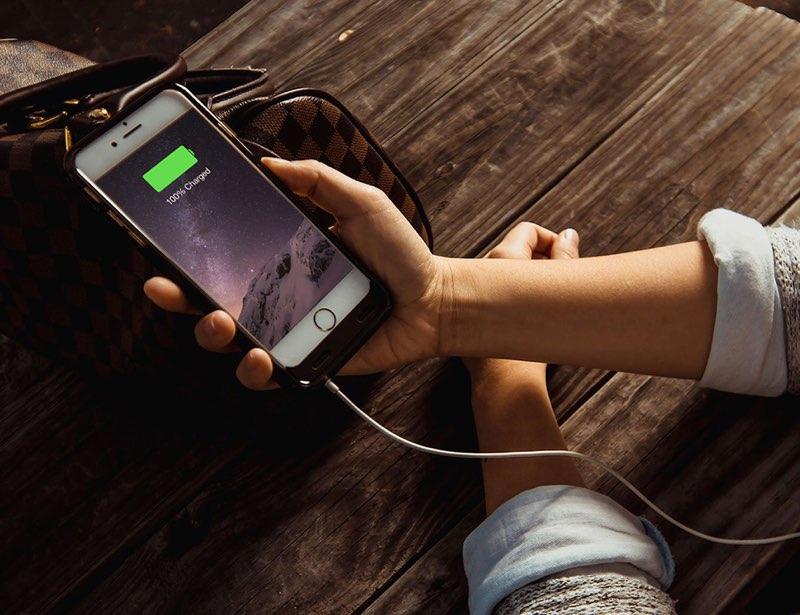 iPhone batterij vol waarschuwing