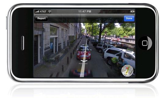 Google Maps navigatie op de iPhone