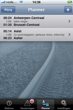 trein belgie