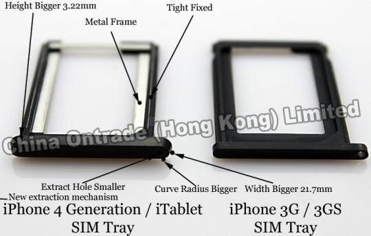 phone 3g sim tray