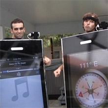 iPhone kostuums 2009 versie