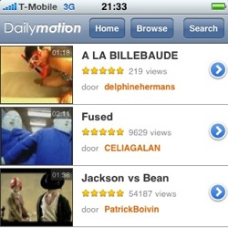 dailymotion iphone