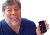Steve Wozniak met gePwnde iPhone