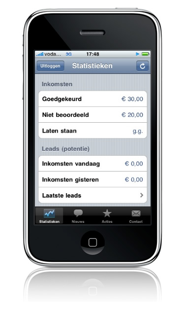 M4N iPhone applicatie