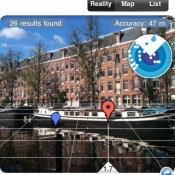 Review: Layar, Nederlandse augmented reality op de iPhone