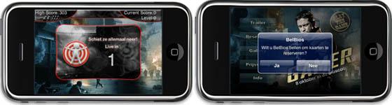 gamer iphone applicatie
