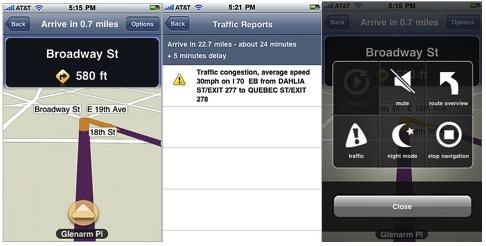 mapquest iphone