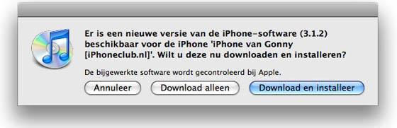 iphone firmware update 312