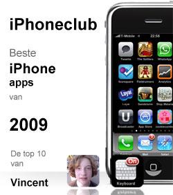 iPhoneclub beste apps 2009 van Vincent