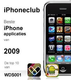 de top 10 beste iphone applicaties 2009 van wds001. Black Bedroom Furniture Sets. Home Design Ideas
