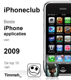 iPhoneclub beste apps 2009 van Timmeh_