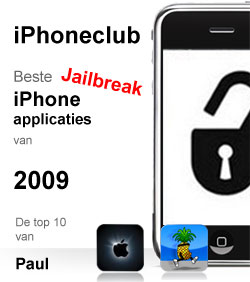 iPhoneclub beste apps 2009 van Paul
