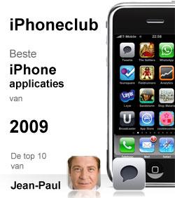 iPhoneclub beste apps 2009 van Jean Paul