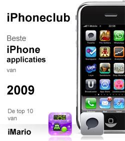 iPhoneclub beste apps 2009 van iMario