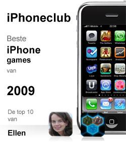iPhoneclub beste games 2009 van Ellen