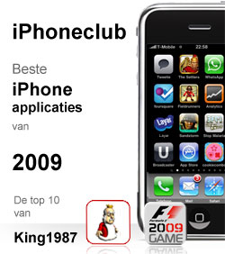 iPhoneclub beste apps 2009 van King1987