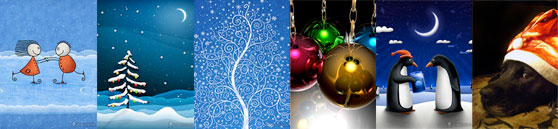 wallpapers kerst
